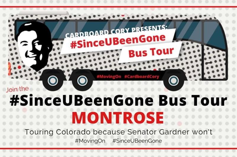 Montrose's Since U Been Gone Bus Tour: Meet Cardboard Cory