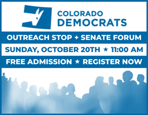 Register today for the CDP Outreach Stop + Senate Forum (free admission)